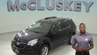 A97530PT Used 2013 Chevrolet Equinox LT SUV Black Test Drive, Review, For Sale -