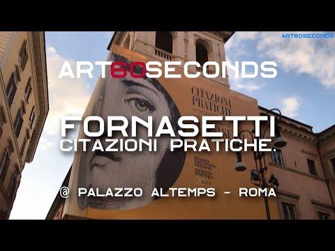 Il Museo Di Palazzo Altemps Ospita La Mostra Citazioni Pratiche Di Piero Fornasetti