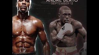 Флойд Мейвезер мл. vs   Андре Берто.  Бокс 2015.\\\Floyd Mayweather ml. vs Andre Berto. Boxing 2015.