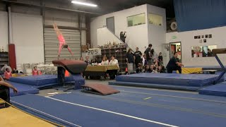 Annie the Gymnast | Level 7 Gymnastics Meet 4 | Acroanna