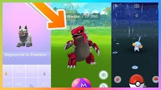 POKEMON GO||GEN 3 AND WEATHER REALEASED WITH GAMEPLAY!!!!||NOT CLICKBAIT!