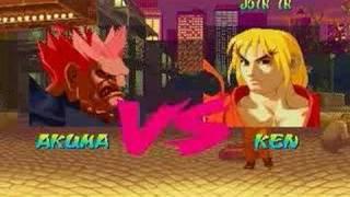 Street Fighter Alpha Akuma All Perfect