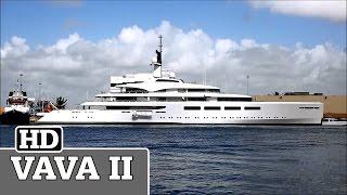 VAVA II \ Incredible Superyacht Docked