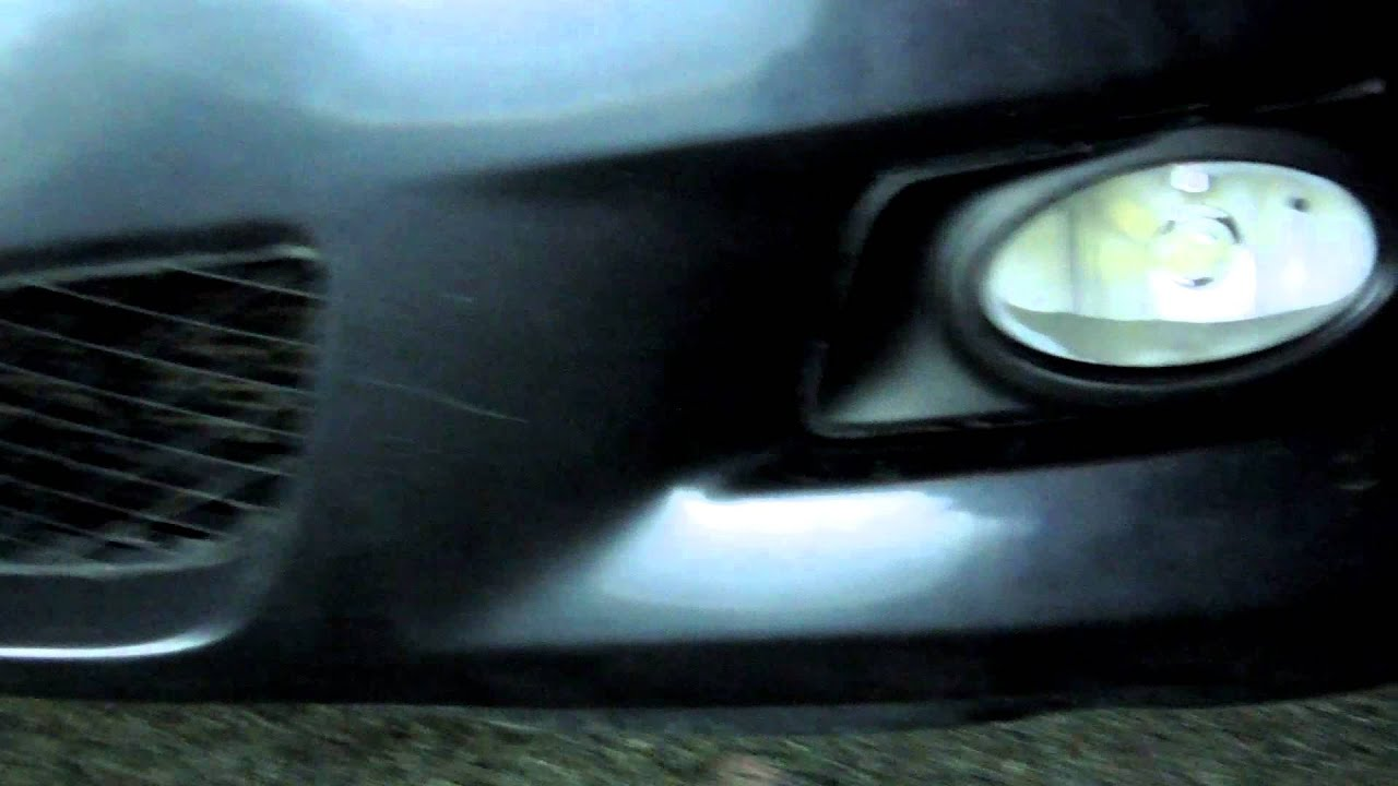 Mazda 3 2006 Fog Light Issue Caused By Vision X Bulbs
