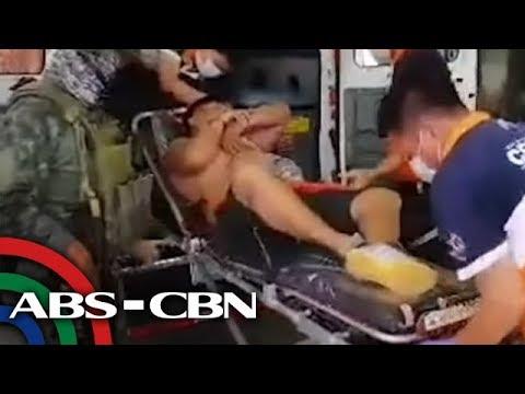 Pulis sugatan pagkatapos tumangkang tumakas sa entrapment operation | Bandila
