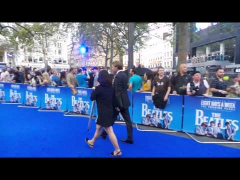 Giles Martin at Eight Days a Week Premiere 15 09 2016