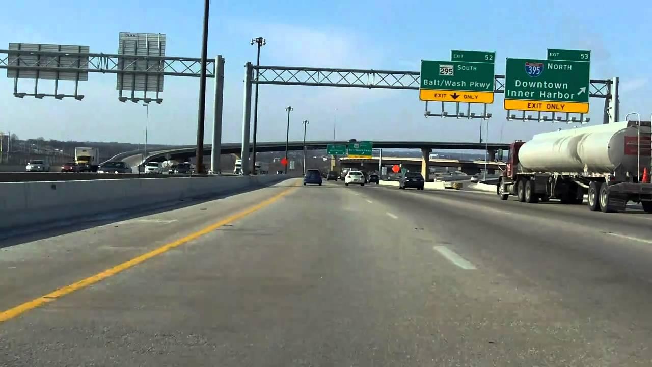 Baltimore Washington Expressway Interstate 95 Exits 56 To