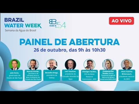 Brazil Water Week - Cerimônia de abertura abertura