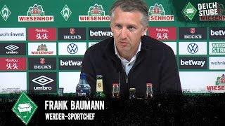 Werder bremen: frank baumann bezweifelt bundesliga-neustart am 9. mai