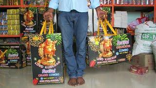 Rs.2,000/- Sivakasi Crackers in Tamil   Unboxing fireworks gift box Grandeur Combo