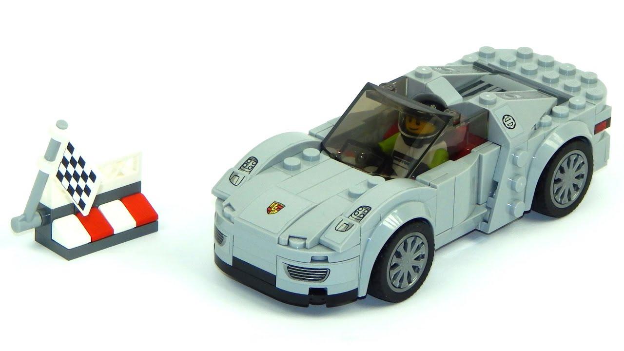 lego speed champions 75910 porsche 918 spyder speed build youtube. Black Bedroom Furniture Sets. Home Design Ideas