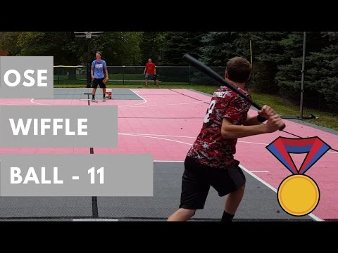 Wiffle Ball 11 - Olympic Theme! - Nationals vs. Orioles Game 1 - 6 innings