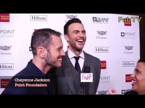 Cheyenne Jackson at the POINT Foundation event  2018