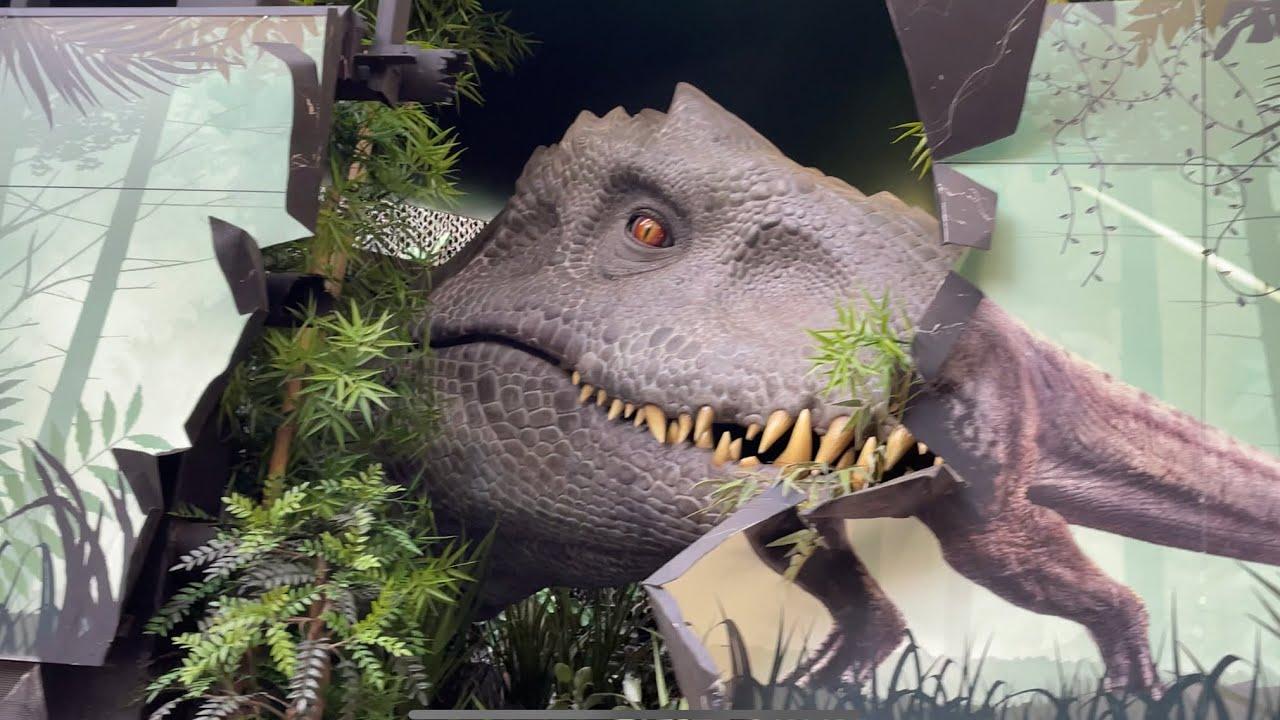 Jurassic World the Ride (NEW Indominus Rex Update) Universal Studios 2021