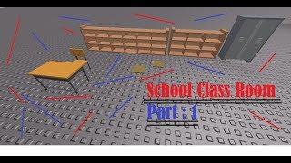 [Roblox] Construction de salles de classe (Partie 1)