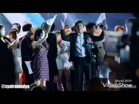 Yook Sungjae (BTOB) and Joy (Red Velvet) - Dream Concert 2017 Moment