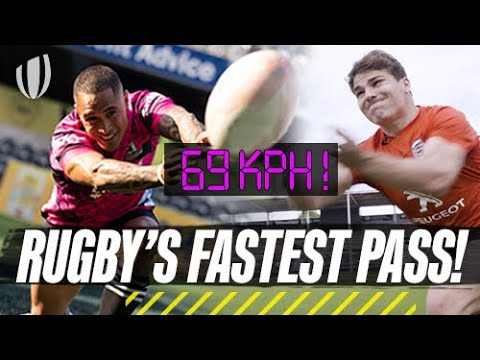 Download Antoine Dupont v Aaron Smith in the GREATEST Pass | Ultimate Rugby Challenge