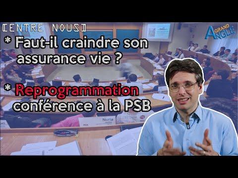 Faut-il craindre son assurance vie / Conférence à la Paris School of Business
