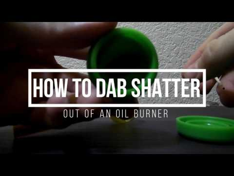 Dabbing Out Of An Oil Burner
