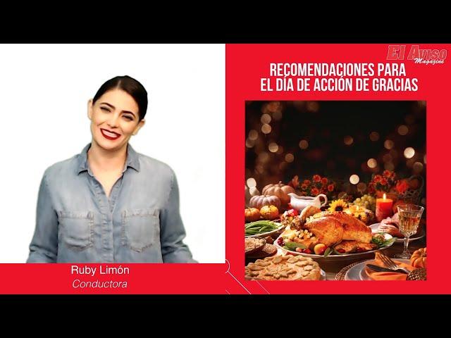 Día de Acción de Gracias 2020: 3 recomendaciones para Thanksgiving en tiempos de pandemia - El Aviso