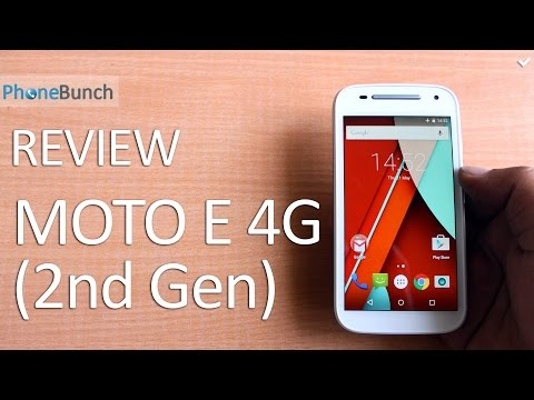 Motorola Moto E (2nd Gen) 4G Full Review