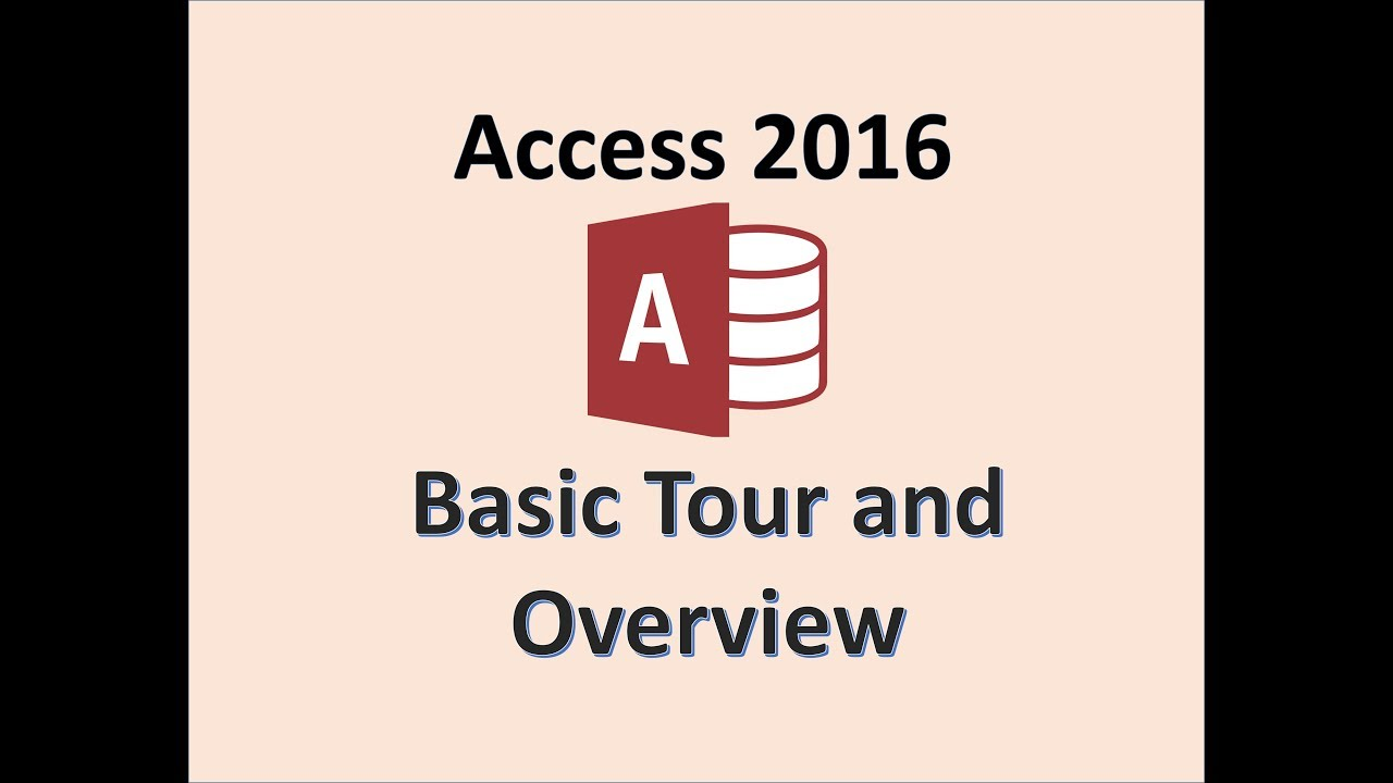 Access 2016 Microsoft Database Full Tutorial Mos Certification