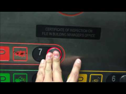 Final Parking Elevator: Innovation Traction Elevator at Honolulu Int'l Airport Parking M