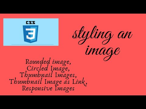 #10.CSS Styling Images|Learn How To Style An Image |HTML & CSS Tutorial For Beginners|Coding Tricks