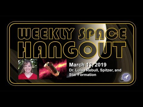 Weekly Space Hangout: March 13, 2019: