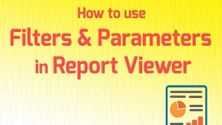 How to use Filters & Parameters in ReportViewer