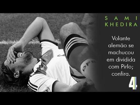 DESFALQUES DA COPA #1: Sami Khedira
