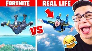 FORTNITE vs. REALLIFE 2.0 CHALLENGE!