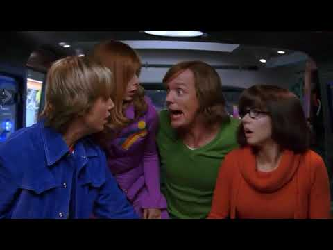 Scooby 2 2004 Scooby drives the mystery machine funny scene 😂😂😂😂