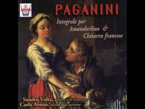 Paganini - Complete works for mandolin and french guitar