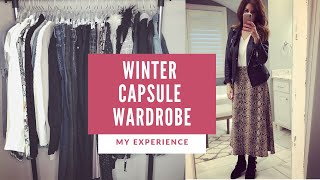 Winter Capsule Wardrobe 2019 | Fashion over 40
