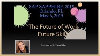 Future Work, Skills, Leadership, Careers - SAP (Technology)