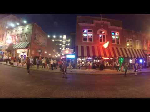 An Evening Stroll Down Beale St. Memphis, Tennessee
