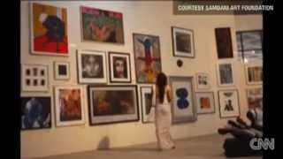 CNN Report: Bangladeshi Art Trade Looks to Gain Western Exposure