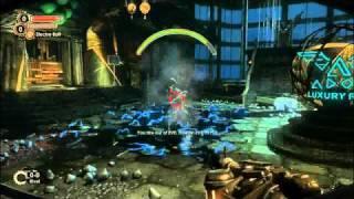 Bioshock 2  Gameplay on ATI 4670 HD