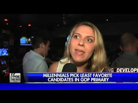 Millennials pick favorite candidates in Republican primary