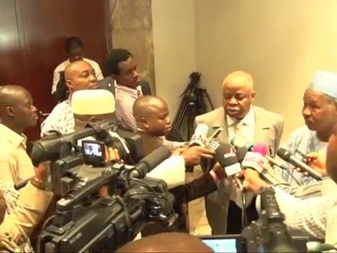 Watch President Buhari Meets Former Senate President Ken Nnamani