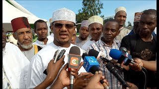 Senator Hassan Omar has hit out at Aden Duale remarks on Chief Kadhi Ahmed Mohdhar