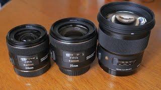 DRTV по-русски: Фиксы против зумов Canon 24-70mm f/2.8L II