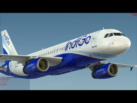 [FSX] Airbus X IndiGo - Let's go to India.