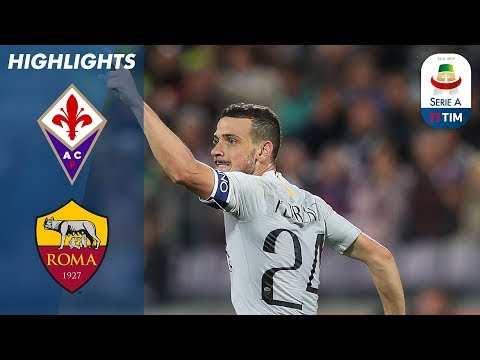Fiorentina 1-1 Roma | Late Florenzi Strike Earns Point For Roma | Serie A