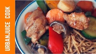 Chicken And Scallops Stir Fry Recipe