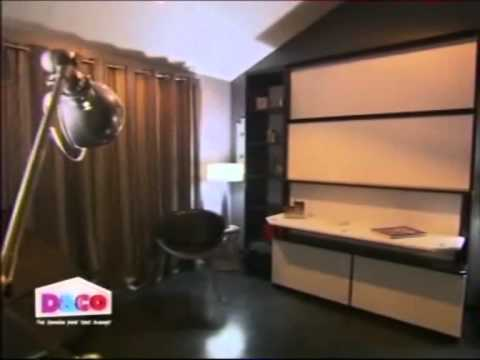 d co lit coulissant et bureau escamotable fran ois desile youtube. Black Bedroom Furniture Sets. Home Design Ideas