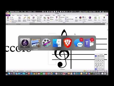 Music Notation & Publishing - Cutaway score in Sibelius
