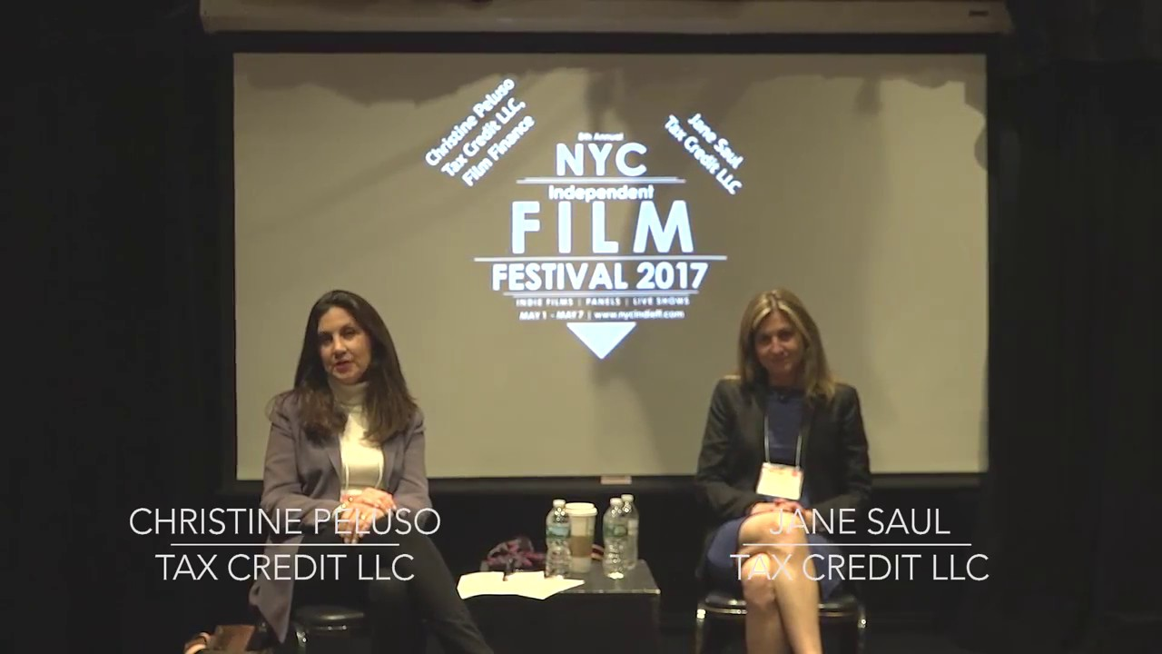 Christine Peluso and Jane Saul presented at the 6th Annual NYC Independent Film Festival 2017