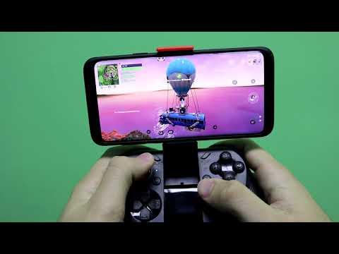 Giocare A #FORTNITE Con GamePad Mocute E Panda Keymapper Su Samsung Galaxy #S9+